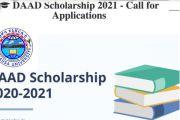DAAD call for Scholarship